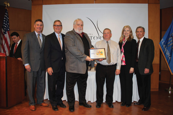Airco Service Inc Was Named Central Tech S Partner For Progress And Honored At The Oklahoma History Center In City On February 19